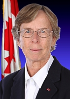 Photo of TSB Chair Kathy Fox